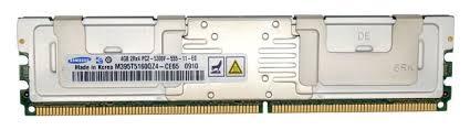 Samsung M395T5160CZ4-CE65 4GB 2RX4 PC2-5300F MEMORY DIMM